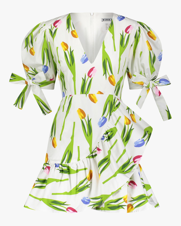 Harbor Puff Sleeve Mini Dress