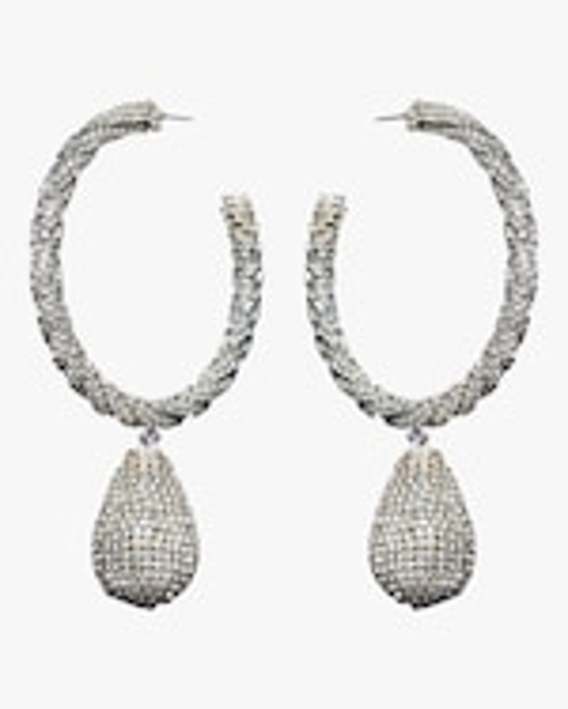 Sachin and Babi Ava Hoop Earrings 0