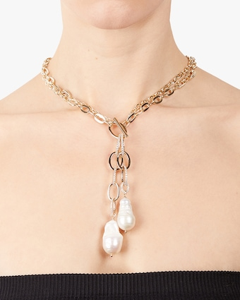 Diana Convertible-Link Toggle Necklace