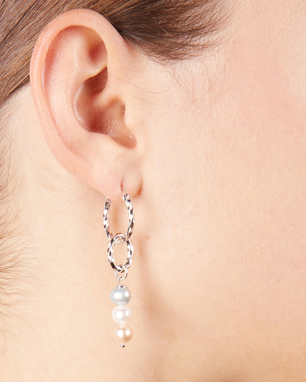 Jane Interlocking Drop Earrings