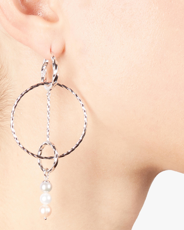 Carolee Jane Interlocking-Circles Drop Earrings 1