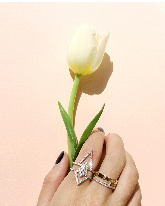 Chérut V.O.F Baguette Ring 1