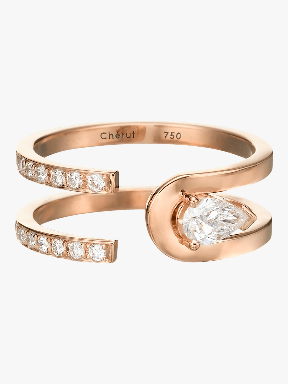 K.E.M Poire Ring