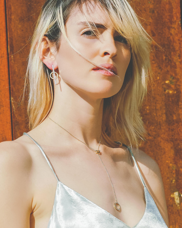 Chérut K.E.M Circle Single Earring 1