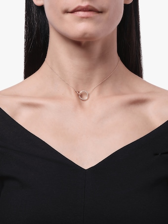 K.E.M Circle Diamond Choker