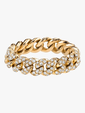 Pavé Diamond Essential Link Ring