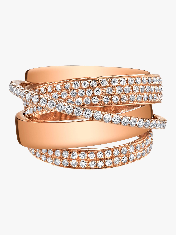 Essential Orbit Ring With Round Diamonds