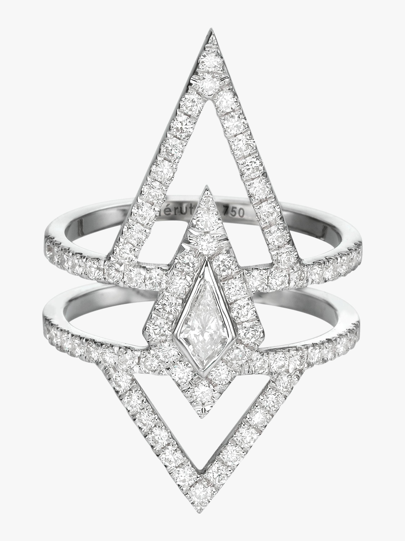 Chérut V.O.F Kite Diamond Ring 1