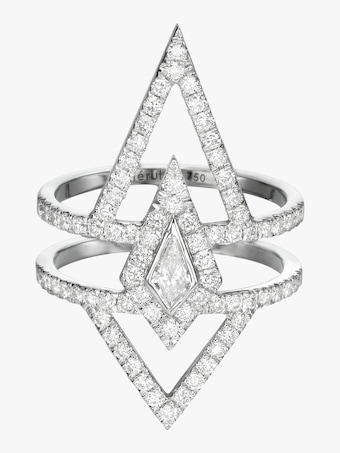 Chérut V.O.F Kite Diamond Ring 1
