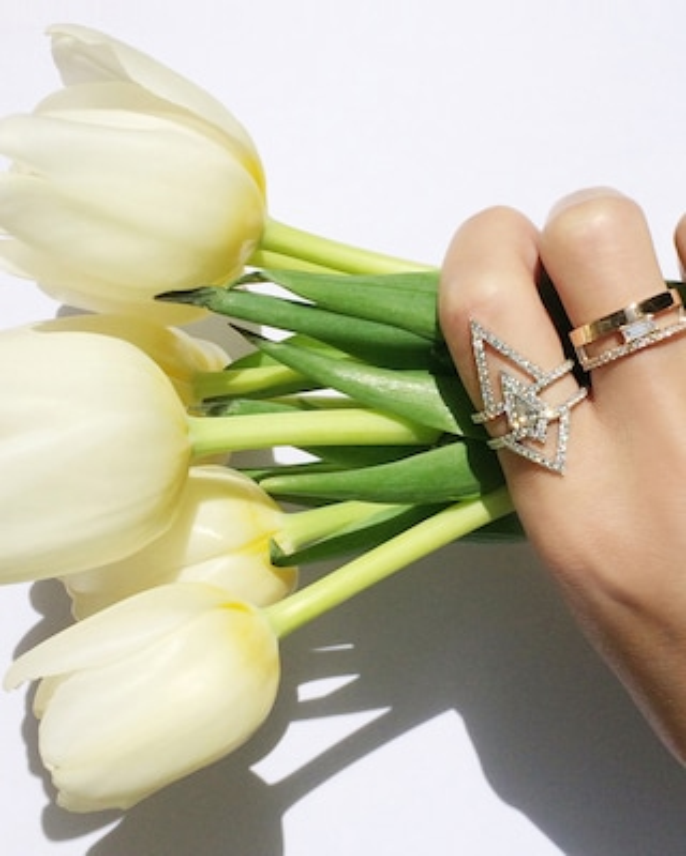 Chérut V.O.F Kite Diamond Ring 2
