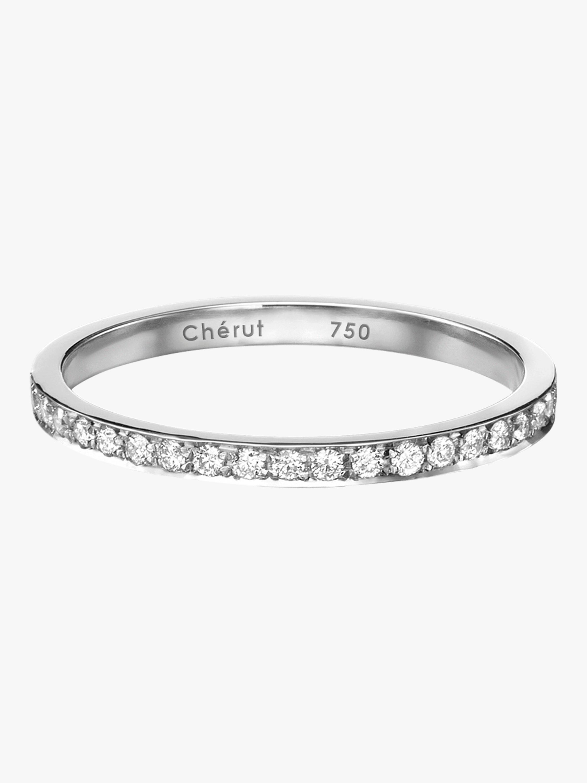 Chérut K.E.M Pavé Ring 0