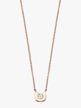 C Moi Small C Diamond Necklace