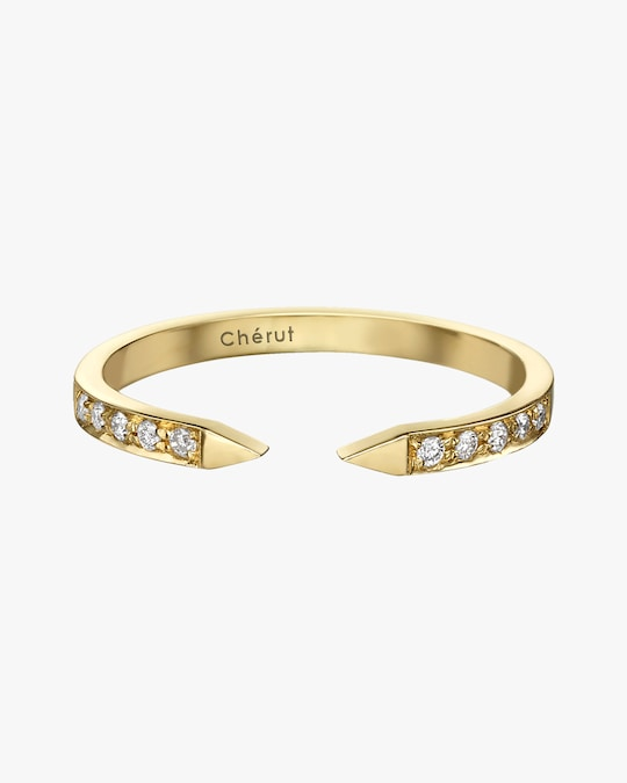 Chérut Sugarkane Diamond Ring 0