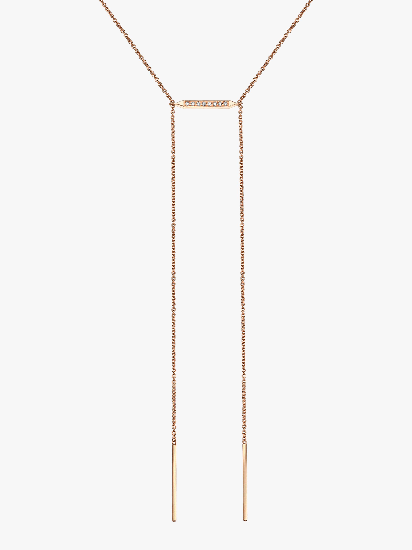 Sugarkane Ladder Necklace