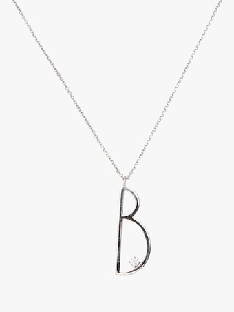 "Mimi So Type Letter ""B"" Pendant 1"
