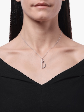 "Mimi So Type Letter ""B"" Pendant 2"