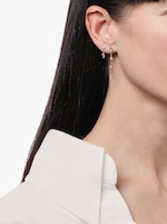 Jacquie Aiche Diamond Tinkerbell Chain Stud 1