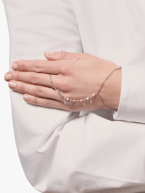 Diamond Shaker Finger Bracelet