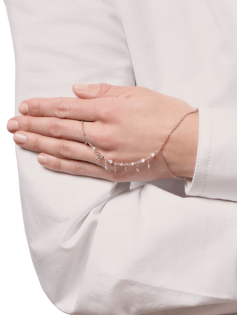 Diamond Shaker Finger Bracelet