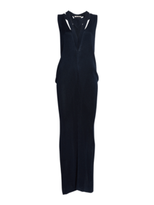 Drape Viscose Knit Dress