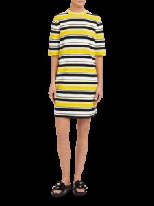 Crewneck Cocoon Dress