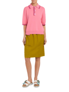 Polo Shirt with Contrast Tip