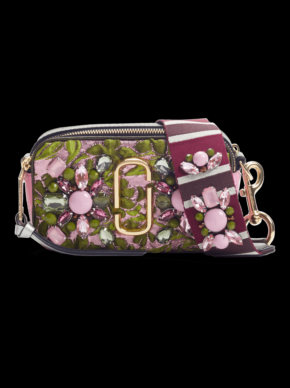 Snapshot Floral Brocade Camera Bag