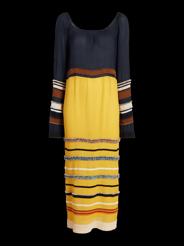 Long Sleeve Scoopneck Dress