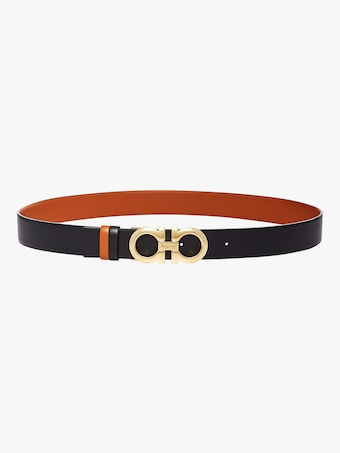 Salvatore Ferragamo Gancini Reversible Belt 2