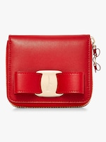 Salvatore Ferragamo Vara Zip Around Wallet 0