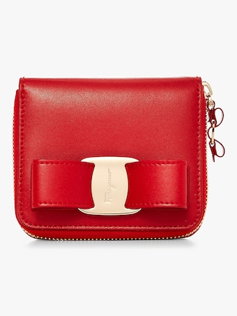 Salvatore Ferragamo Vara Zip Around Wallet 1