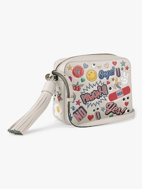 All-Over Stickers Crossbody