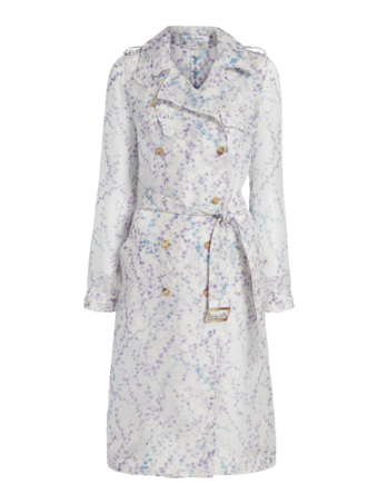 Giro Floral Organza Trench