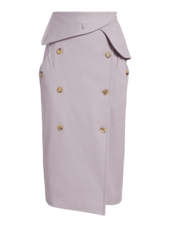 Venusia Wrap Trench Skirt