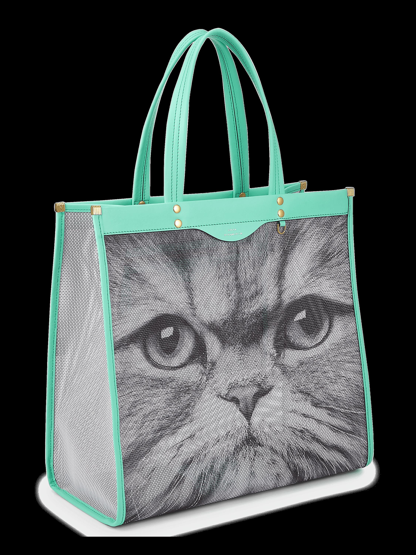 Cat Mesh Tote