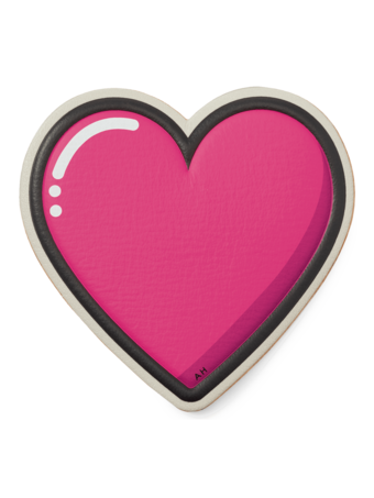 Oversized Heart Sticker