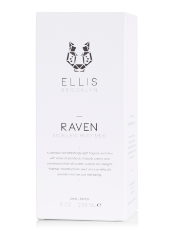 Raven Excellent Body Milk 8 oz