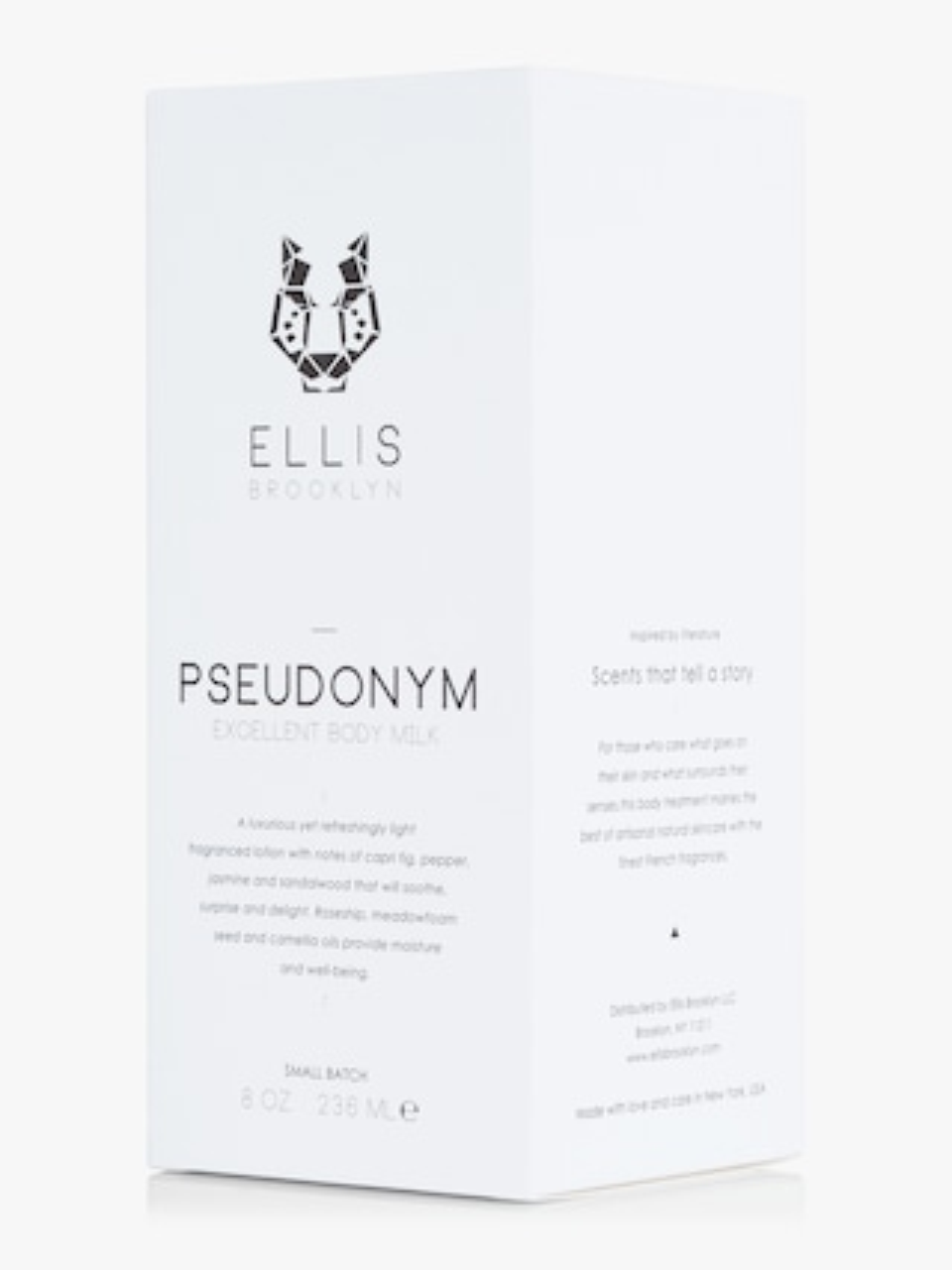 Ellis Brooklyn Pseudonym Excellent Body Milk 8 oz 2