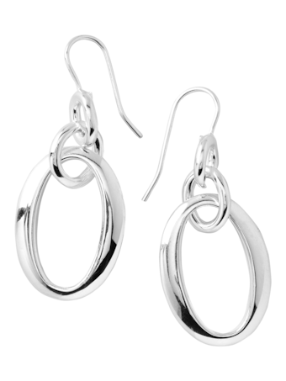 925E.F. Classico Short Oval Link Earrings