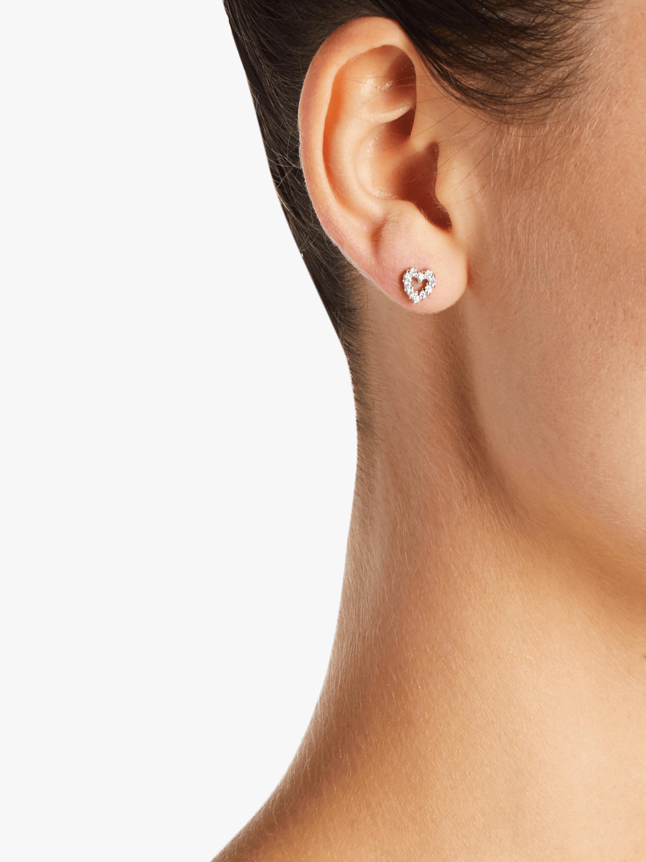 Roberto Coin Baby Heart Earrings 2
