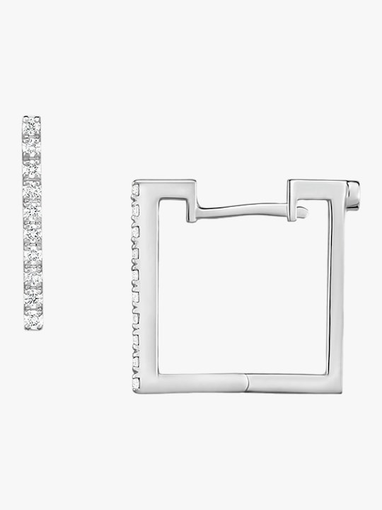 Roberto Coin Square Huggie Earrings 0