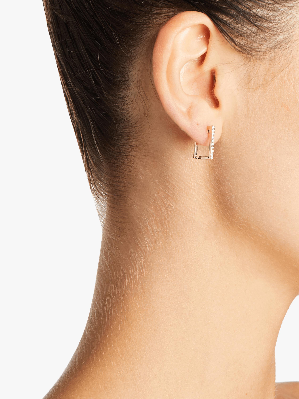Roberto Coin Square Huggie Earrings 2