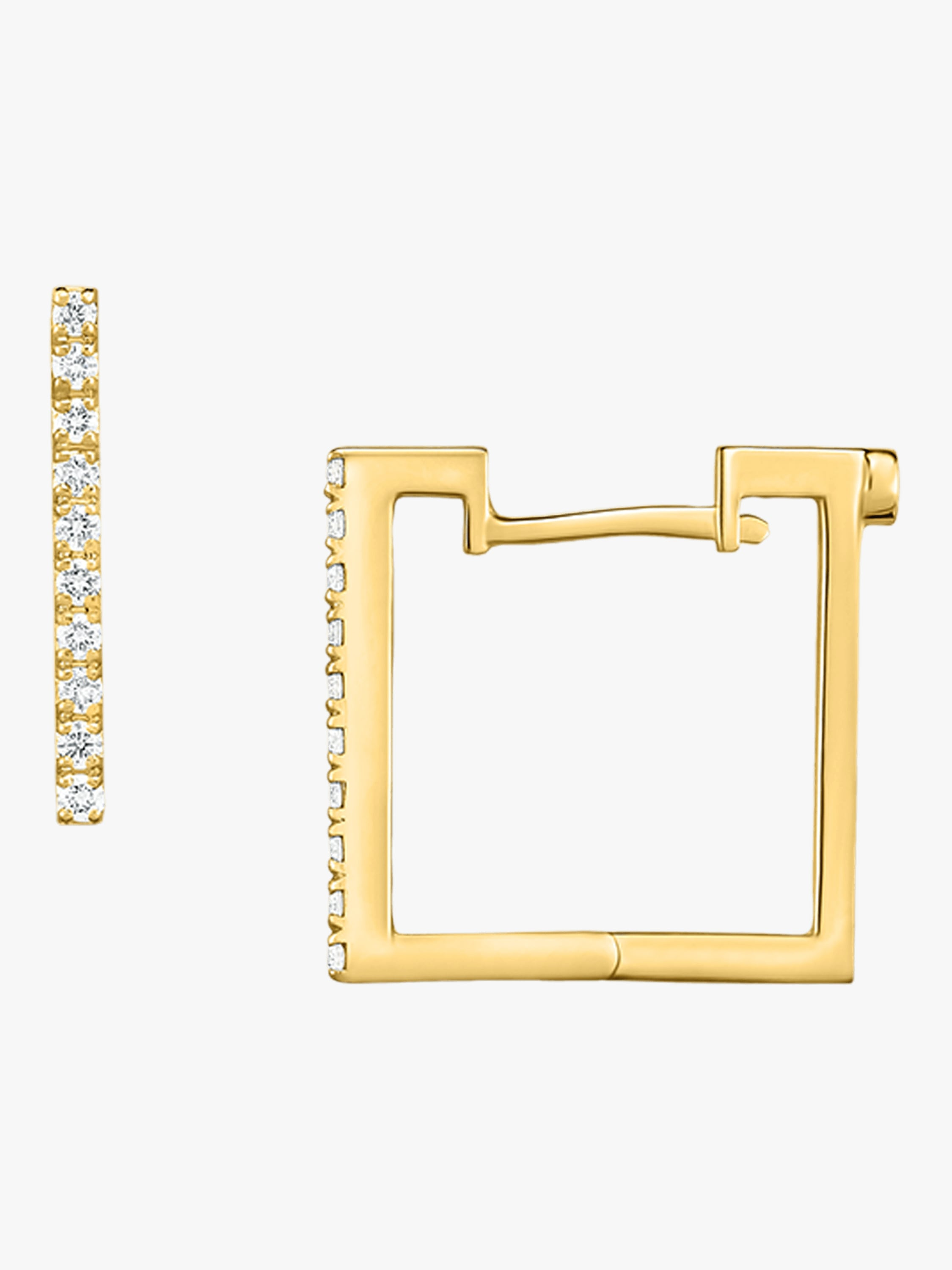 Roberto Coin Square Earrings 1
