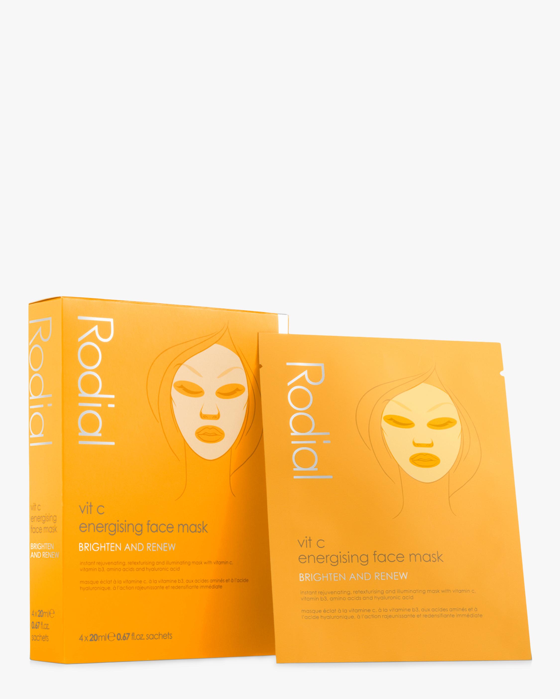 Rodial Vit C Cellulose Sheet Mask X4 4pk 0