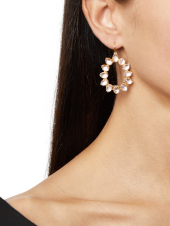 Caterina Small Frame Earrings