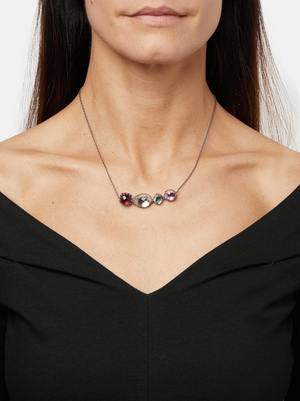 Sadie 4-Stone Necklace