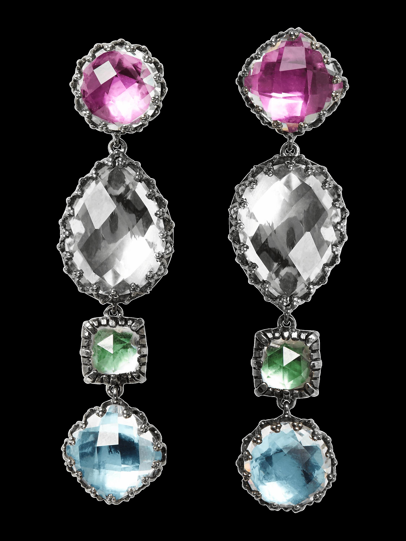 Sadie 4-Drop Earrings