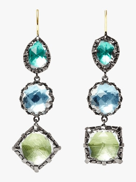 Sadie 3-Drop Earrings