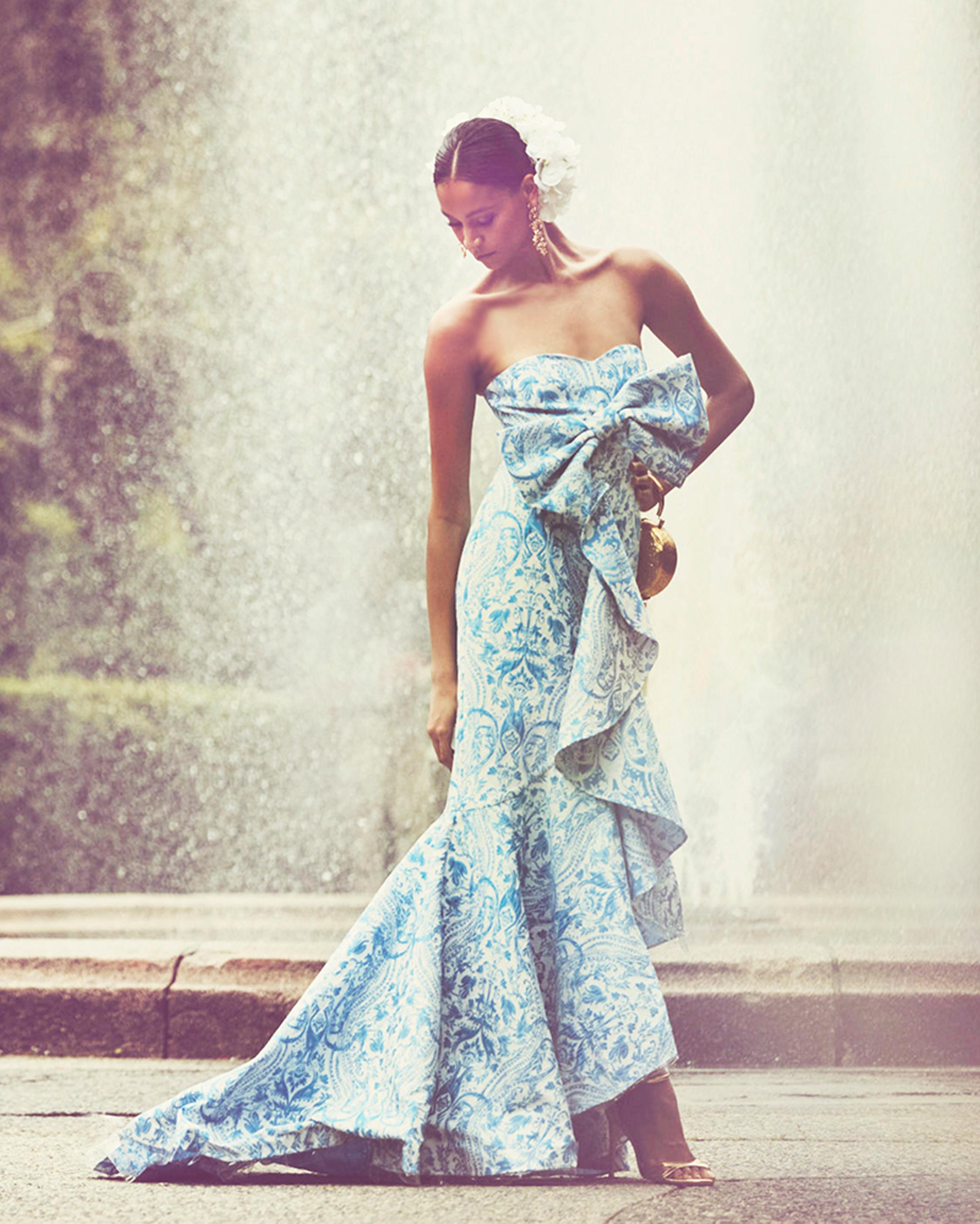 Azulejo Gown