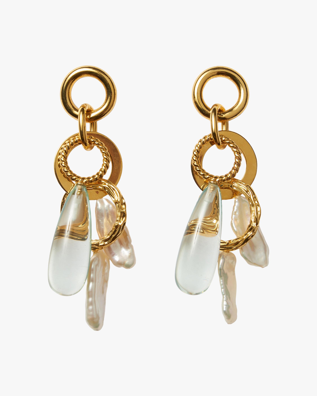 Lizzie Fortunato Pergola Drop Earrings 0